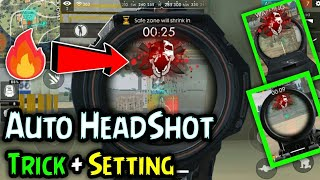 New Auto Headshot Free Fire - Bug/setting - After update ll Garena free fire