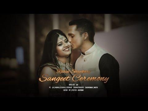 Rahul & Shankari | Sangeet Ceremony | Highlights | Taj Club House, Chennai-2