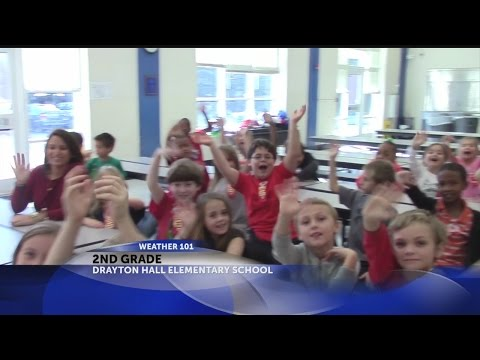 Weather 101 with Rob Fowler at Drayton Hall Elementary School