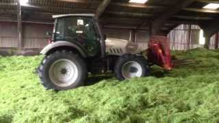 Silage 2013. Buckraking with Hurlimann