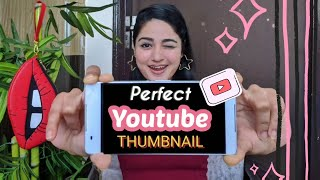 How to Create the Perfect YouTube Thumbnail on Phone | Apps that i Use