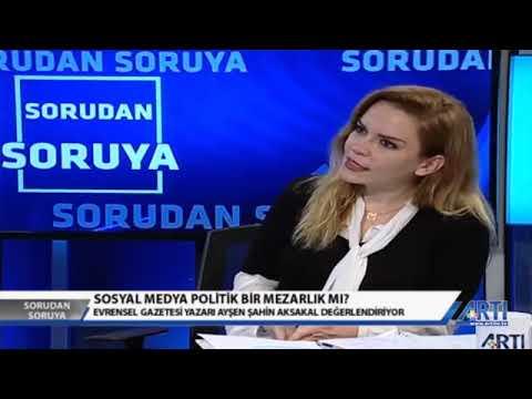 Murat Aksoy Ile Sorudan Soruya Konuk Ayşen şahin Aksakal Youtube