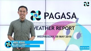 Public Weather Forecast Issued at 4:00 AM May 09, 2018