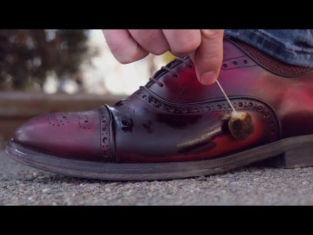 Prada быстрая покраска обуви