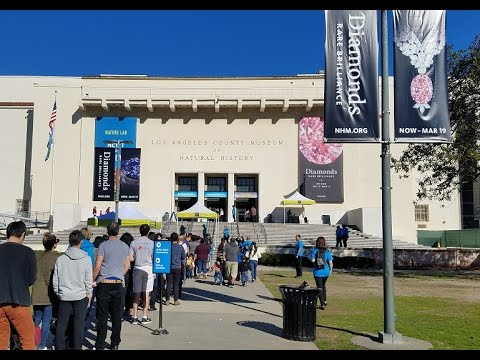 VLOG #10 : Natural History Museum Los Angeles 2017