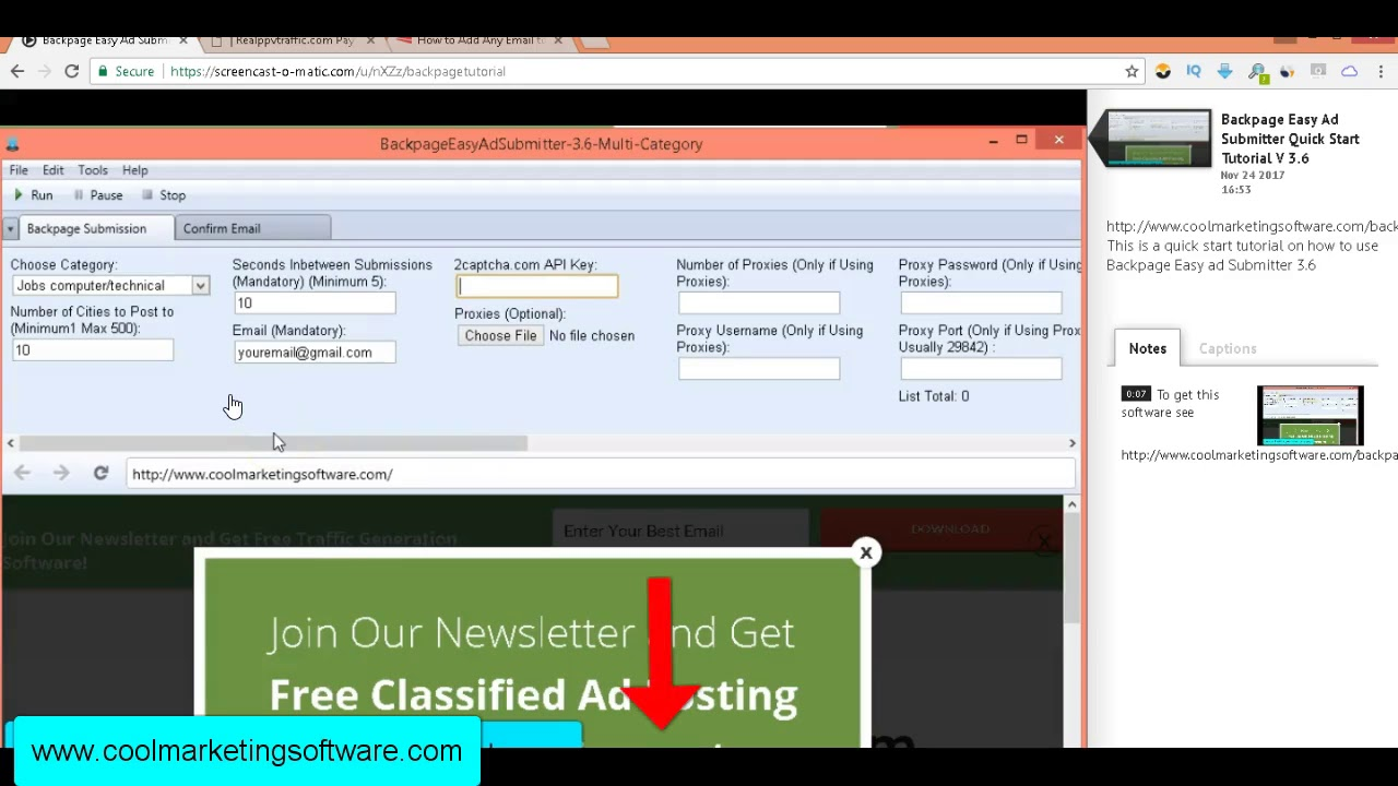 Easy Ad Submitter Updated V 3 6 11/28/17