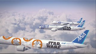 STAR WARS™ JETS (R2-D2™ ANA JET / STAR WARS™ ANA JET / BB-8™ ANA JET)