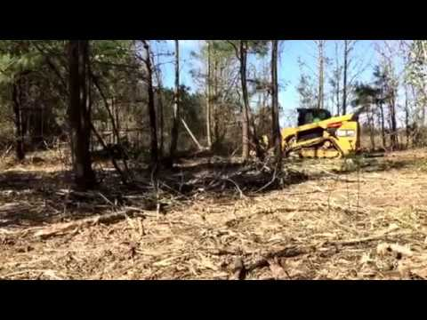 Forestry mulching  Central Arkansas Bush Hog and Lawn Service 501-304-1104