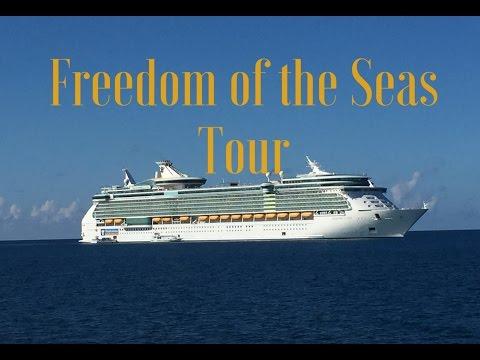 Cruise Ship Tour: Freedom of the Seas Royal Caribbean | GoPro HD