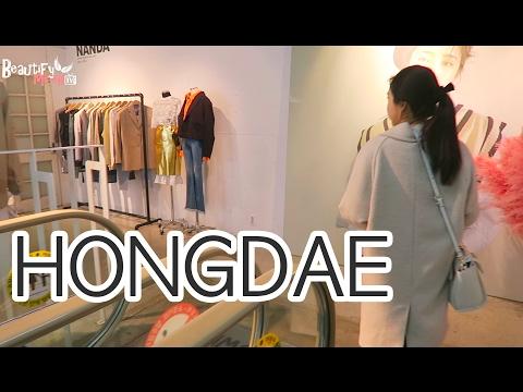 KOREA DIARY | SHOPPING AT HONGDAE With Sunnydahye ♥
