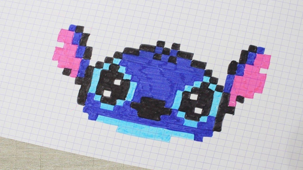 Stitch En Pixel Art