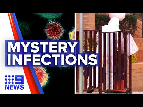 Coronavirus: NSW mystery cases worries as frontline workers cases soar | 9 News Australia