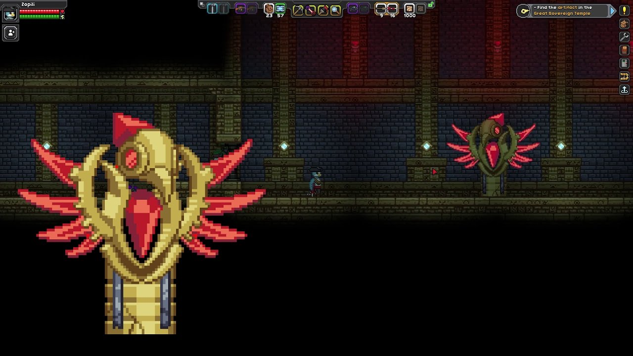 starbound 17 avian quest boss youtube rh youtube com