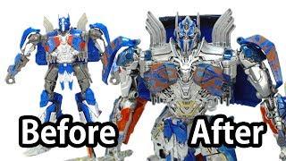 Як налаштувати Трансформери 5 Іграшка? (До і після) -