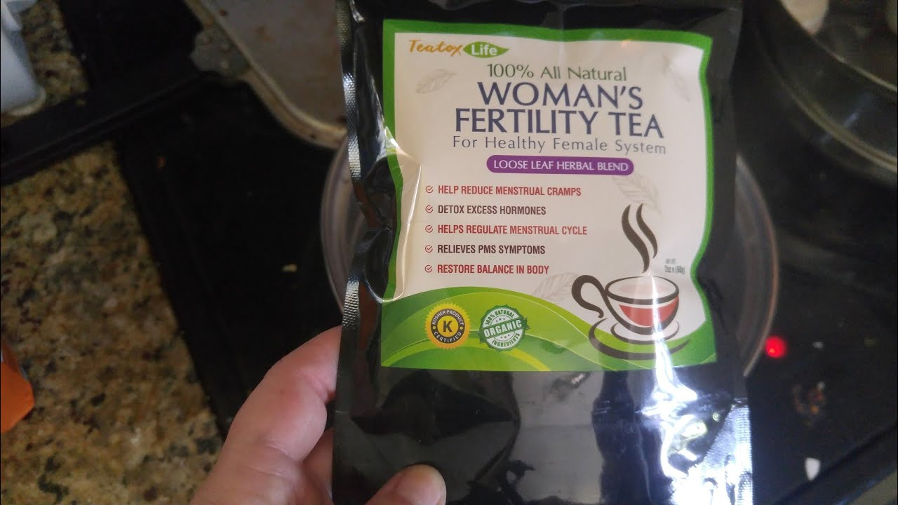 PCOS Fertility Tea for women's health cycle