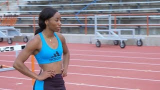 Workout Wednesday: Kendra Harrison & Kori Carter Hurdle Training