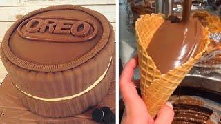 Fancy BIRTHDAY Chocolate Cake Tutorials   Top Yummy Chocolate Cake Decorating Ideas смотреть онлайн в хорошем качестве - VIDEOOO