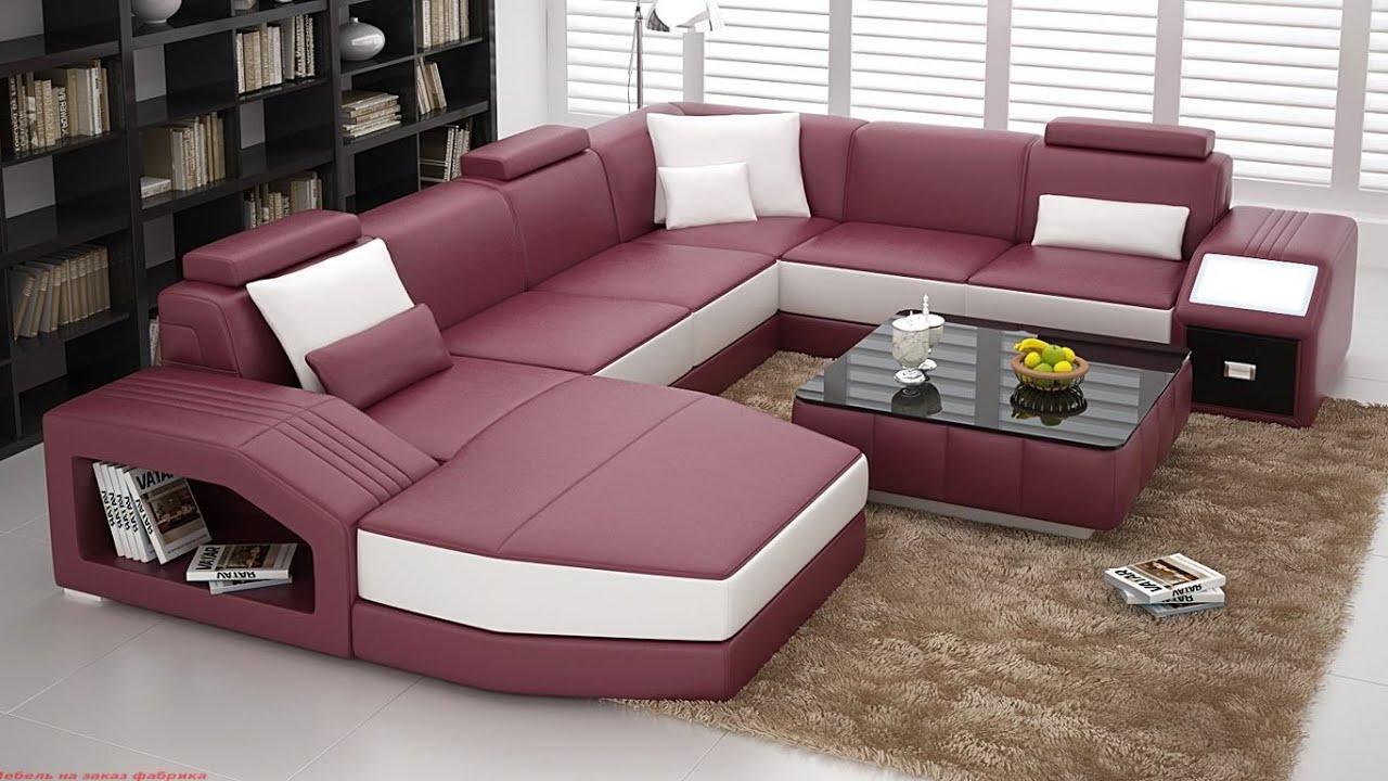 показать фото больших диванов