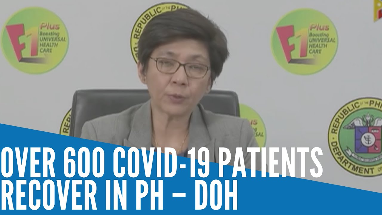 BREAKING: Over 600 COVID-19 patients recover in PH – DOH Banner Image