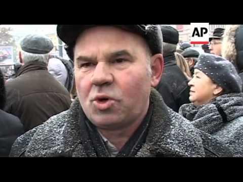 Protests against Dec 4 elections as fraudulent, Zhirinovsky, St Petersburg