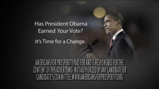 Romney Campaign Ad: Obama Does Not Earn Your Vote