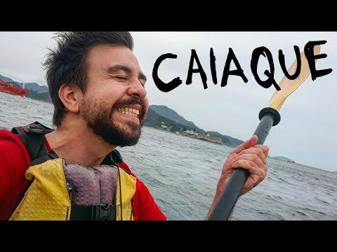Andar de Caiaque no Mar (Ou PiraTaviões do Caribe)
