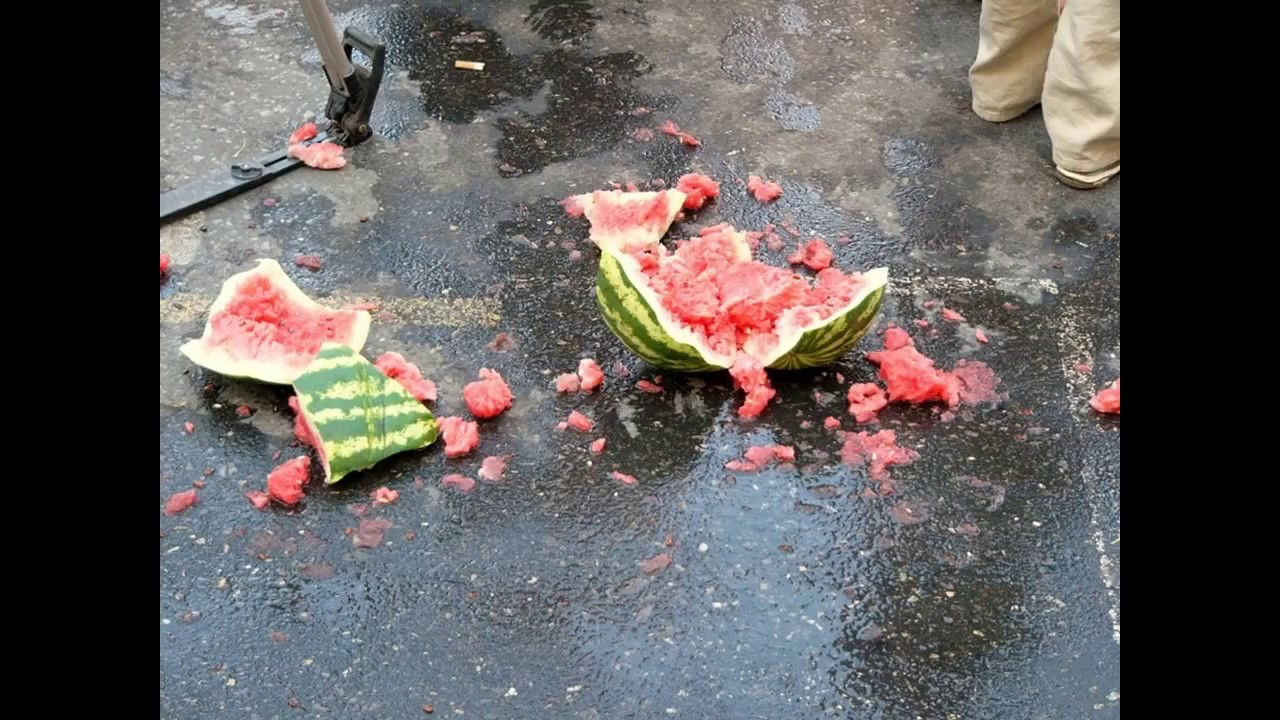картинка разбитый арбуз всего