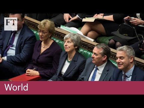 UK parliament votes against no-deal Brexit