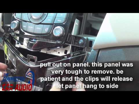 Remove Factory Stereo Chevy Cruze 2011-2015