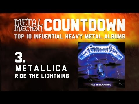 3. METALLICA Ride The Lightning - Top 10 Influential Heavy Metal Albums Metal Injection
