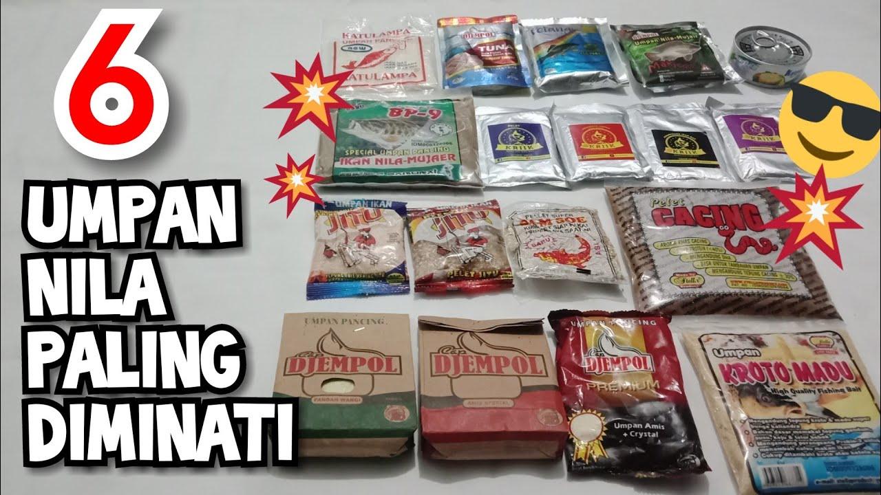 Download 6 Umpan Pelet Nila/Mujair/Mas Paling Diminati