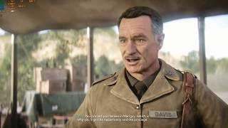 Call of Duty World War 2 CINEMATIC Gameplay  At ULTRA 1080p