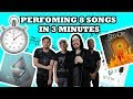 Download PERFORMING 8 SONGS IN 3 MINUTES (SET IT OFF MEDLEY) MP3 song and Music Video