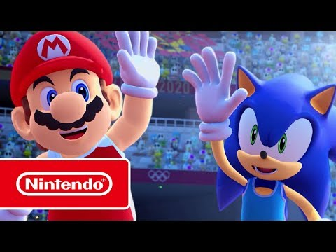 """Mario & Sonic At The Olympic Games Tokyo 2020 - """"All The Fun!"""" Trailer (Nintendo Switch)"""