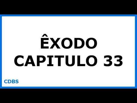Êxodo Capitulo 33