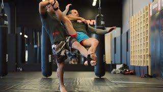 Подсечка в муай тай: уроки тайского бокса с чемпионом мира