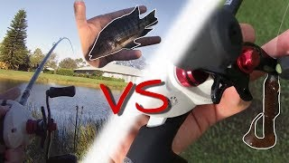 LIVE Talapia VS ARTIFICAL Worm Fishing Challenge!