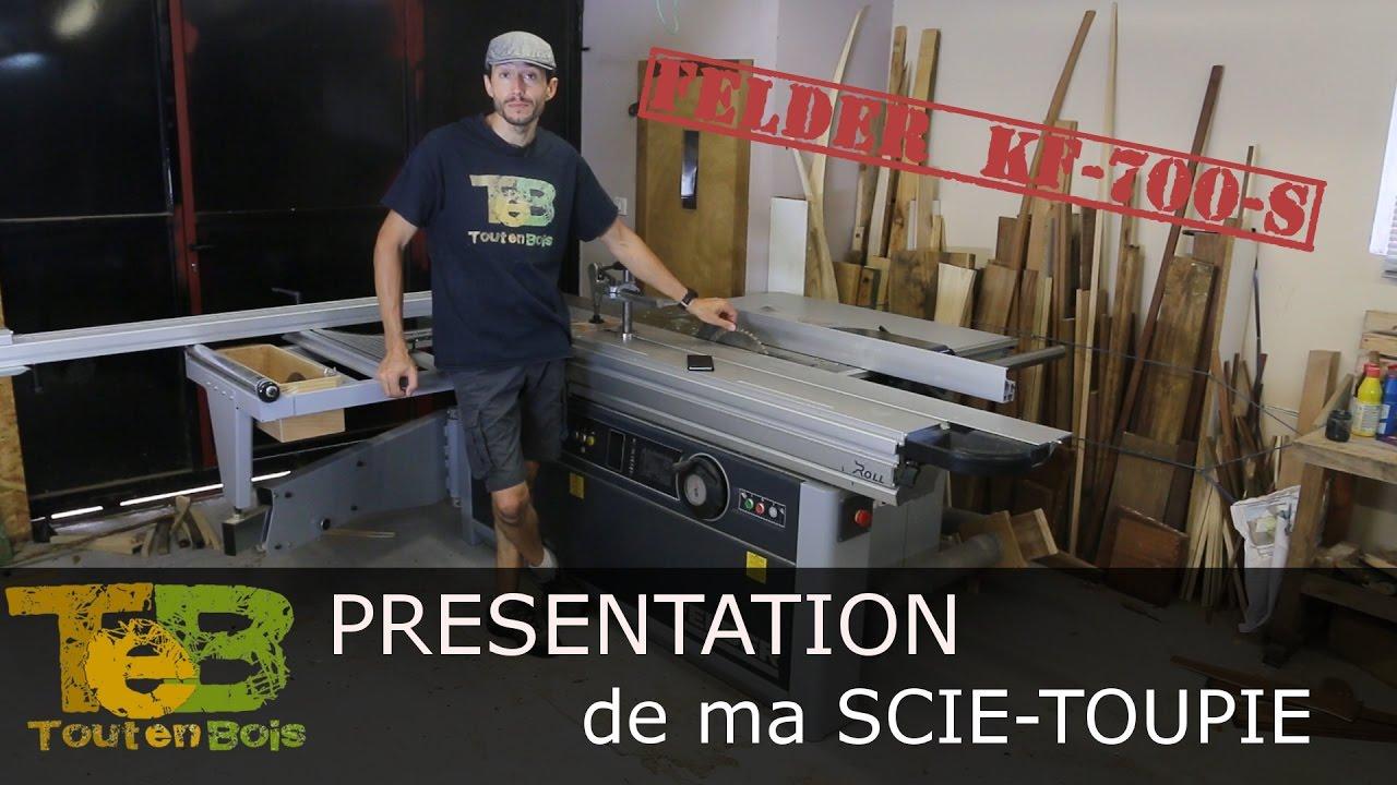 Présentation Détaillée Machine à Bois Combinée Scie Et Toupie