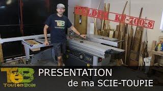Présentation détaillée - Machine à bois combinée scie et toupie FELDER Kf 700 S,