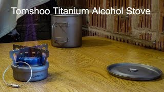 Tomshoo Titanium Alcohol Stove.