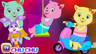 Three Little Kittens Went To The Park - (NEW Cutians) | ChuChu TV Baby Nursery Rhymes & Kids Songs