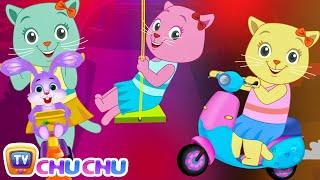 Three Little Kittens Went To The Park – (NEW Cutians) | ChuChu TV Baby Nursery Rhymes & Kids Songs