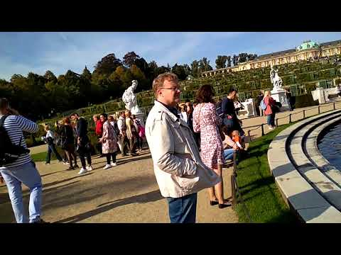 I'm at Sanssouci Palace, Potsdam,Germany 30 September 2017 Part 1