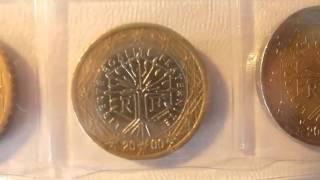 Монеты евро(Пишите мне: группа вконтакте https://vk.com/gruppaartur1999 мой контакт https://vk.com/id162836185 мой фейсбук ..., 2015-09-28T16:39:00.000Z)