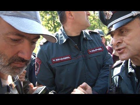 Նիկոլ Փաշինյանի և Վալերի Օսիպյանի թեժ զրույցը բախումներից առաջ