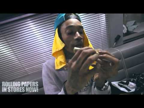 "Wiz Khalifa Feat Chevy Woods Neako ""Reefer Party In Our Tour Bus """