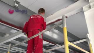 Огнезащитная обработка несущих металлоконструкций(, 2017-05-23T12:55:06.000Z)