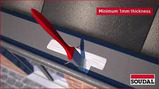 Soudal Soudagum Hydro - Revolutionary SMX® Polymer Waterproofing Membrane