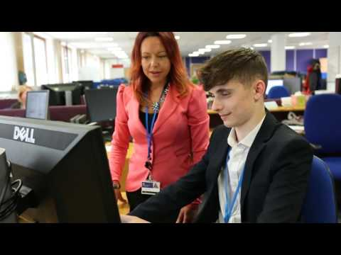Shella Smith talks about Basingstoke and Deane Borough Council's apprenticeship opportunities.