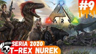 Nurkujący T-REX - Oswajanie w ARK Survival Evolved PL | Seria 2020 #9 - Rizzer